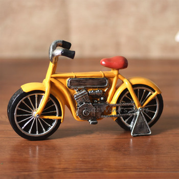 Creative Retro Resin Motorcycle Model Fashion motorcycle statue home decoration